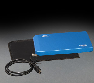 "Внешний карман Frime для 2.5 ""SATA HDD / SSD Metal USB 2.0 Blue (FHE62.25U20)"