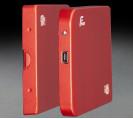 "Внешний карман Frime для 2.5 ""SATA HDD / SSD Metal USB 2.0 Red (FHE63.25U20)"