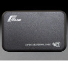 "Внешний карман Frime для 2.5 ""SATA HDD / SSD Plastic USB 3.0 Black (FHE70.25U30)"