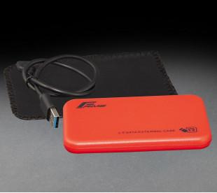 "Внешний карман Frime для 2.5 ""SATA HDD / SSD Plastic USB 3.0 Red (FHE73.25U30)"