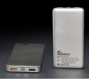 Универсальная мобильная батарея Frime 10000mAh QC3.0 Silver Grey