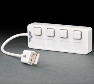 USB-хаб Frime 4-х портовый 2.0 White (FH-20011)