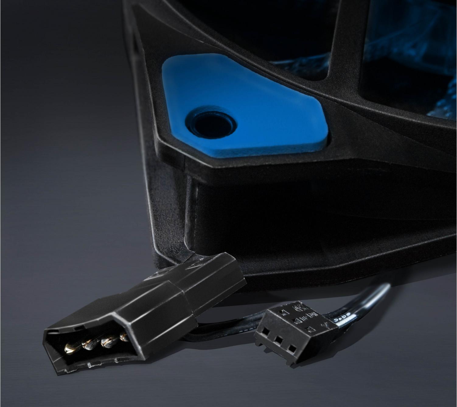 Вентилятор Frime Iris LED Fan 15LED Blue