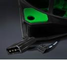 Вентилятор Frime Iris LED Fan 15LED Green