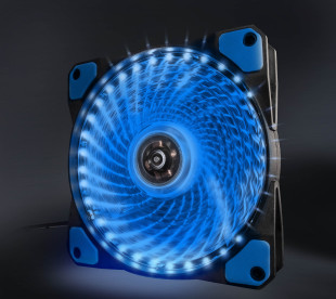 Вентилятор Frime Iris LED Fan 33LED Blue