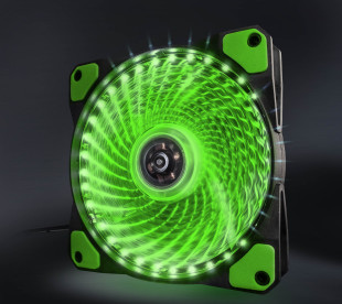 Вентилятор Frime Iris LED Fan 33LED Green