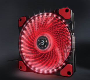 Вентилятор Frime Iris LED Fan 33LED Red