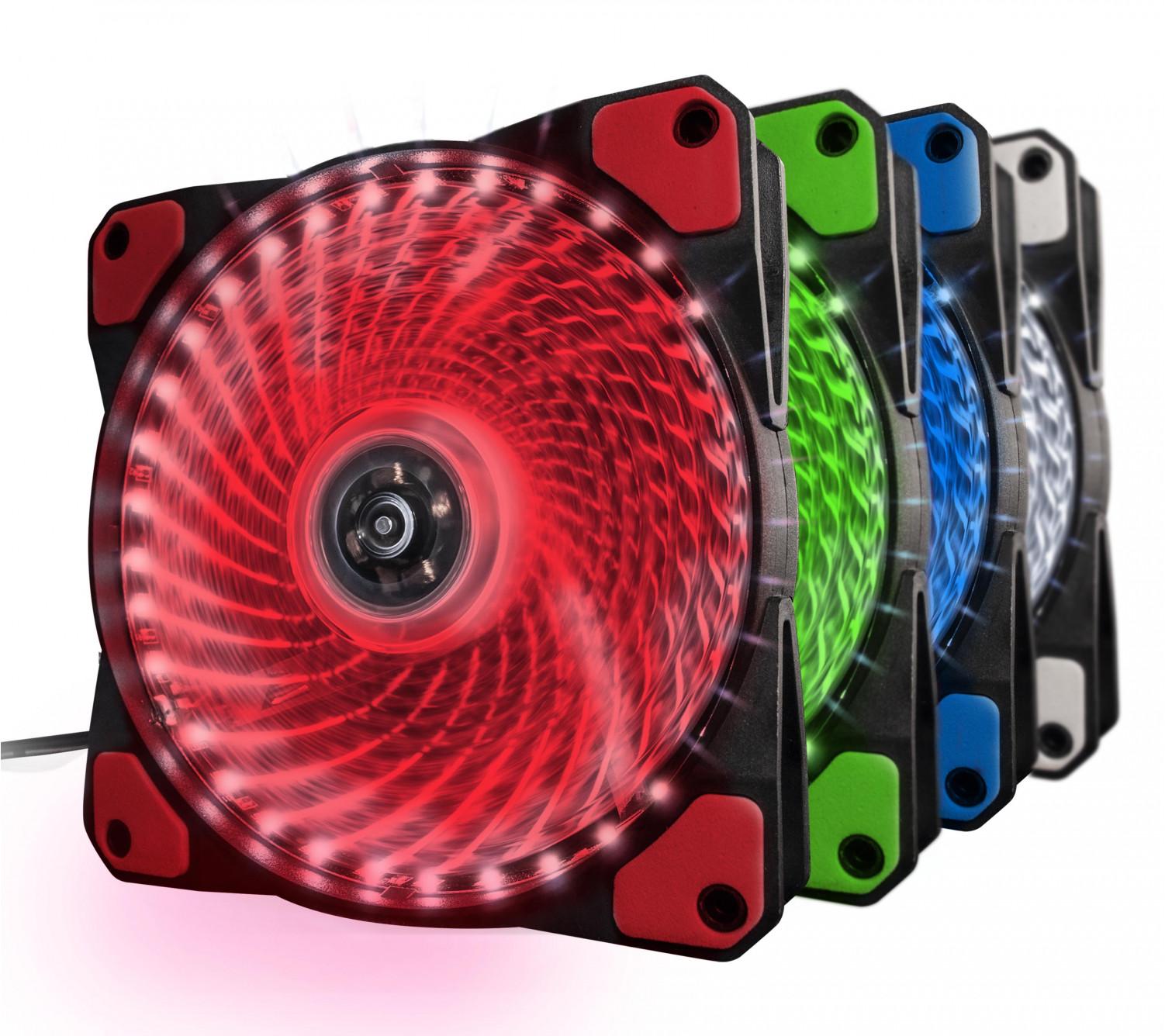 Вентилятор Frime Iris LED Fan 33LED Red