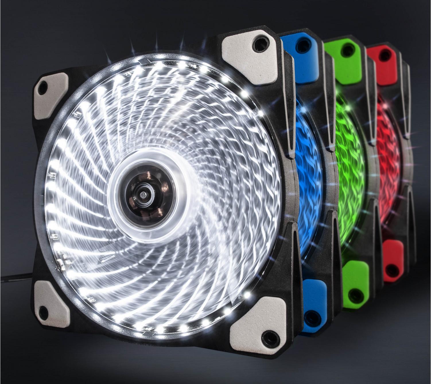 Вентилятор Frime Iris LED Fan 33LED White