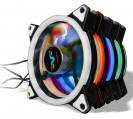 Вентилятор Frime Iris LED Fan Double Ring White