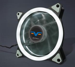 Вентилятор Frime Iris LED Fan Single Ring White