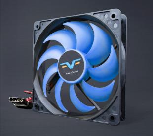 Вентилятор Frime FBF120 Black/Blue molex