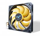 Вентилятор Frime FYF120 Black/Yellow 3Pin