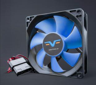 Вентилятор Frime FBF80 Black/Blue molex