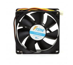 Вентилятор Frime 80*80*25 3pin Black