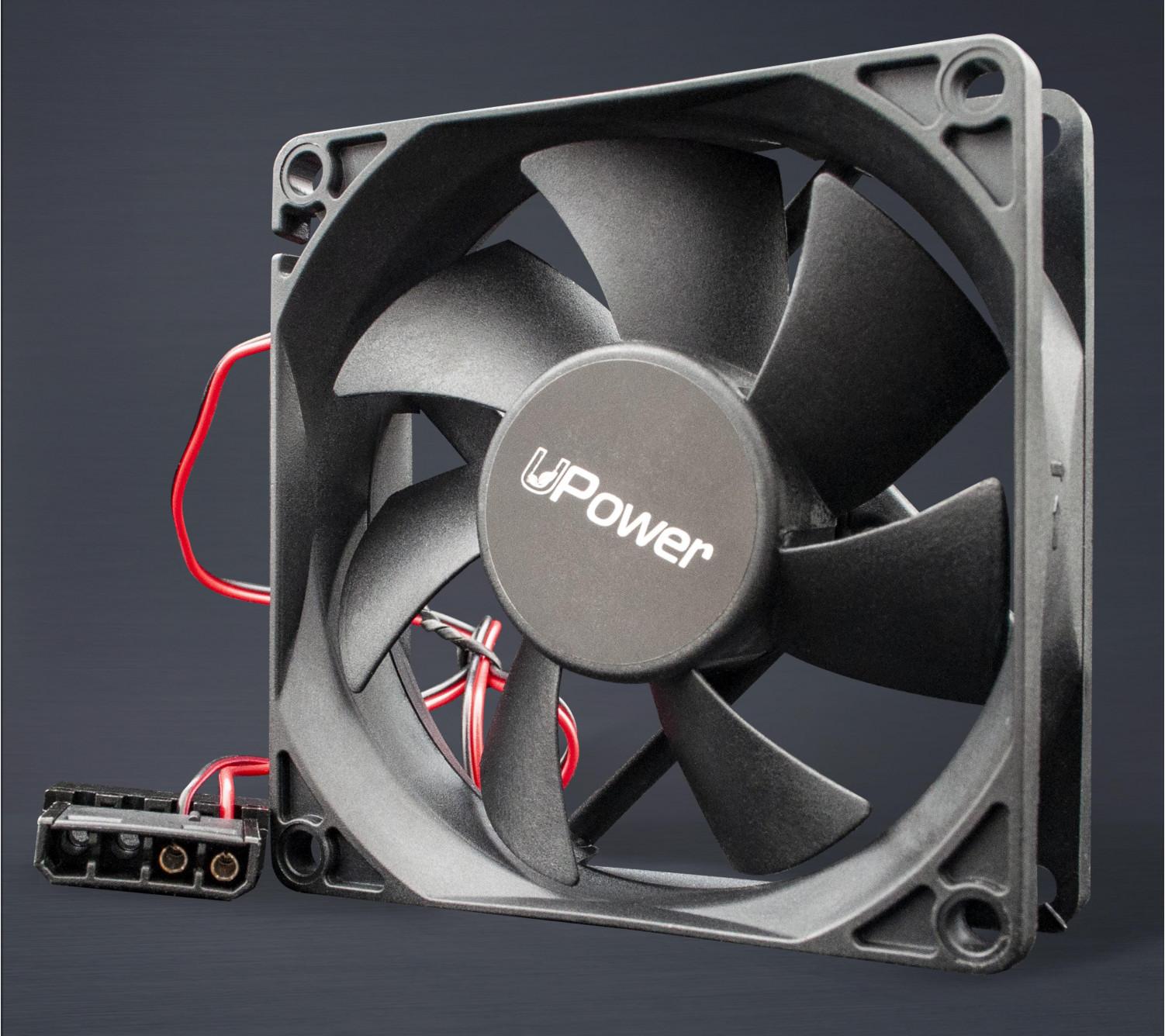 Вентилятор UPower UP8025SB415 80мм, molex