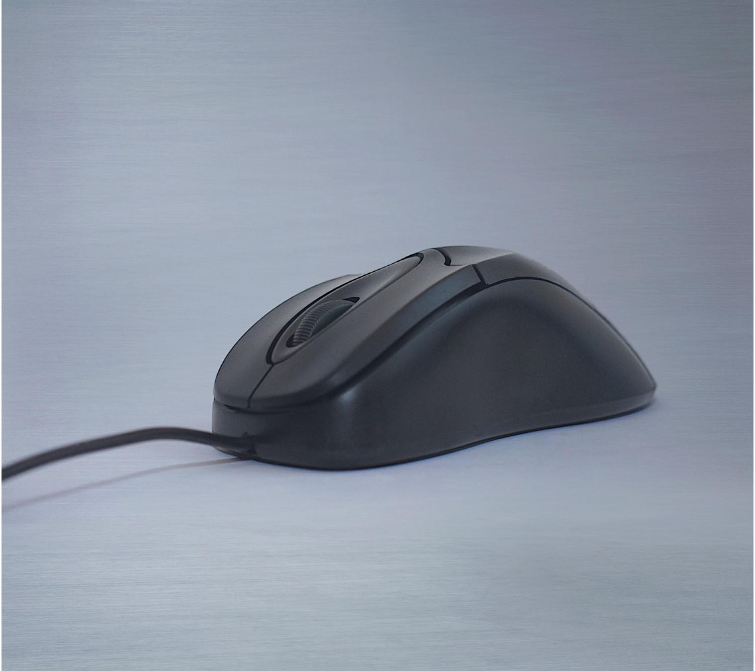 Миша Frime FM-011 чорна USB