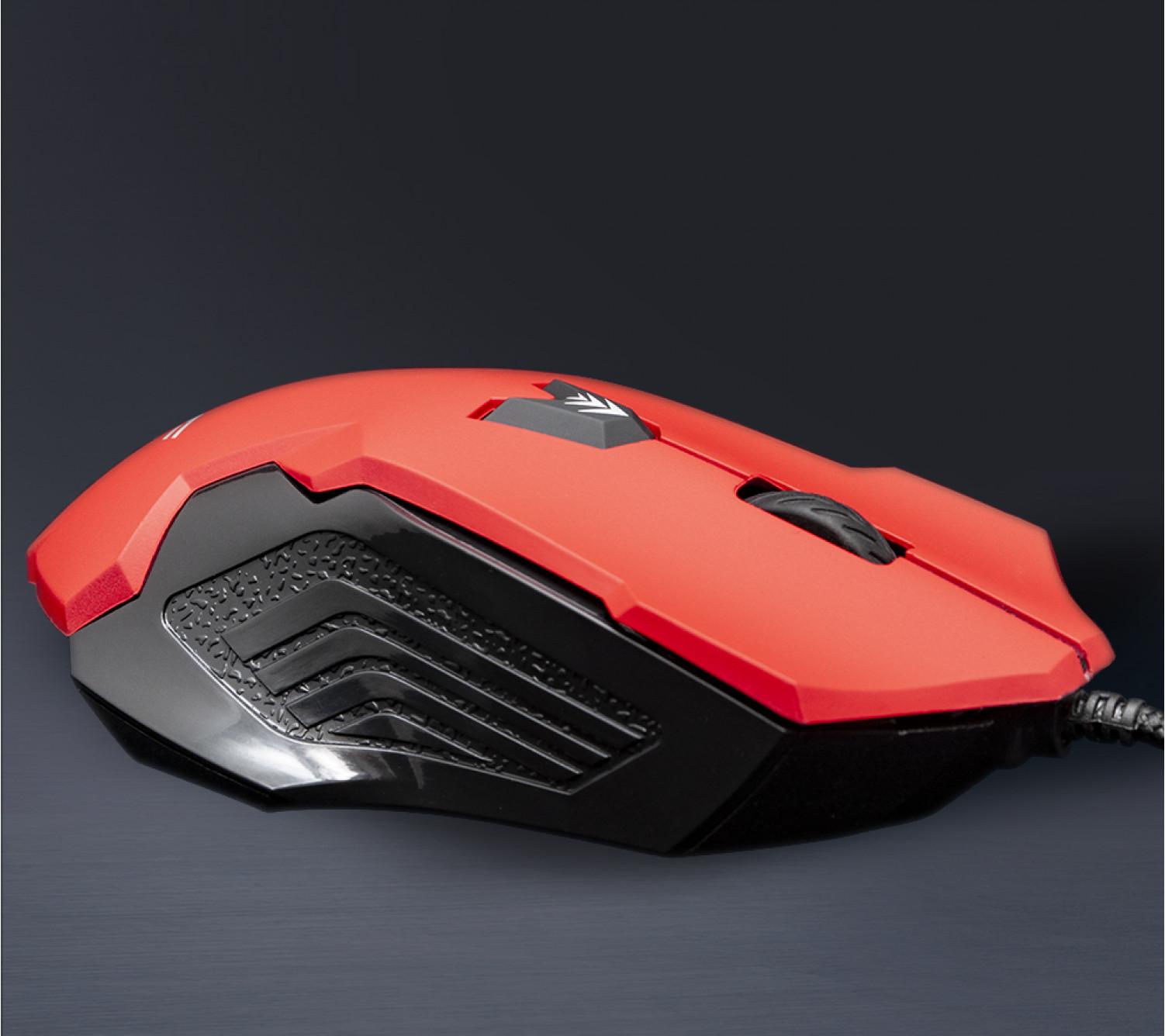 Мышь Frime RAPTOR Red