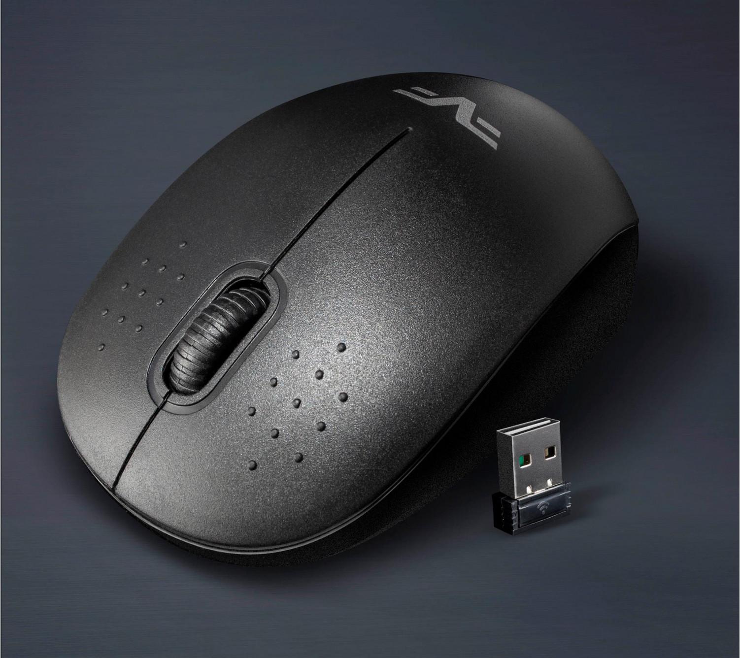 Мышь беспроводная Frime FWMO-210В Черный