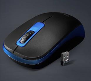 Миша бездротова Frime FWMO-220ВDB Чорний/Темно-сірий