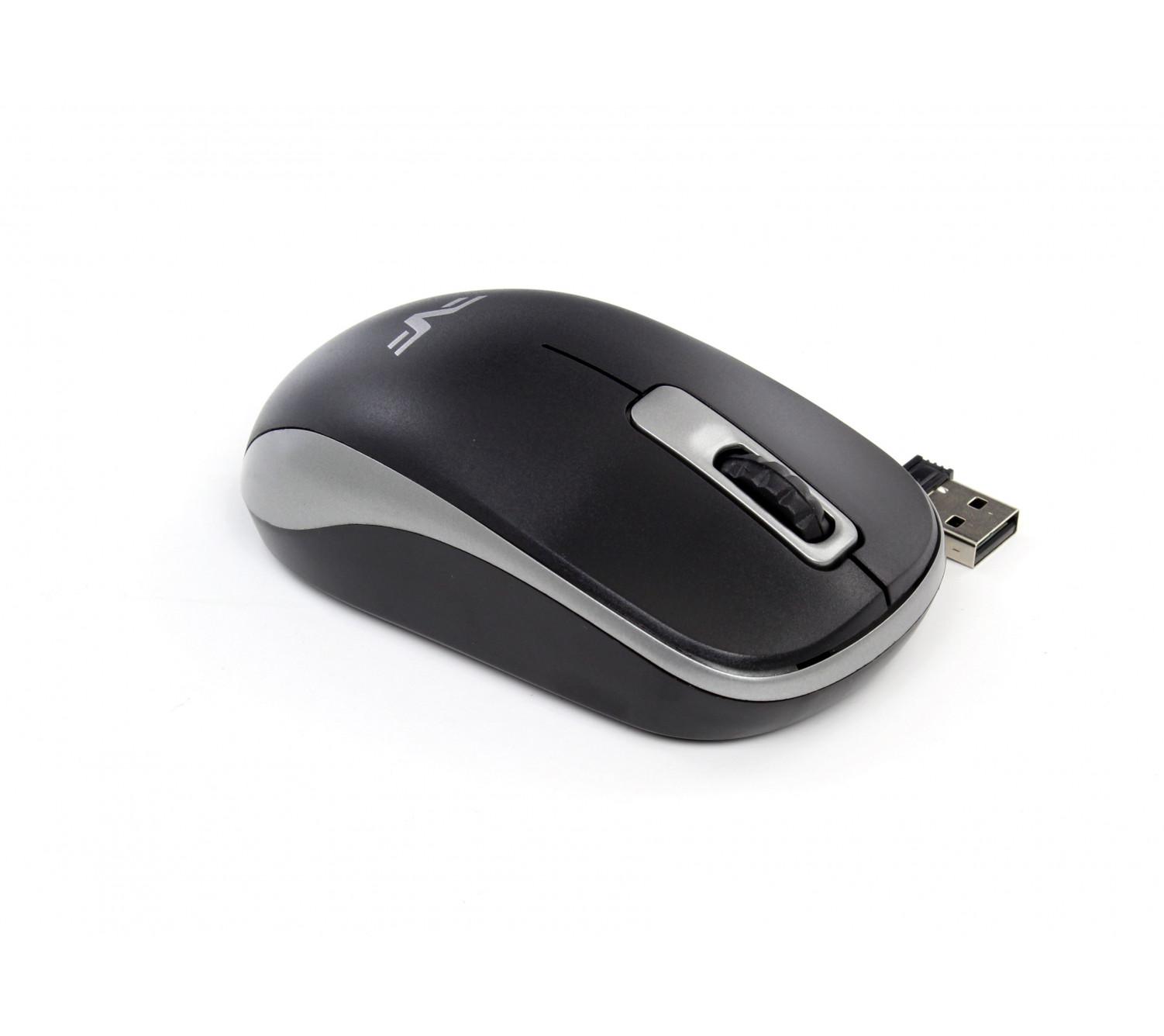 Мышь беспроводная Frime FWMO-220ВG Черный/серый
