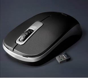 Миша бездротова Frime FWMO-220ВG Чорний/сірий