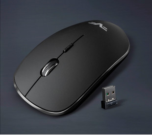 Мышь беспроводная Frime FWMO-230В Черный