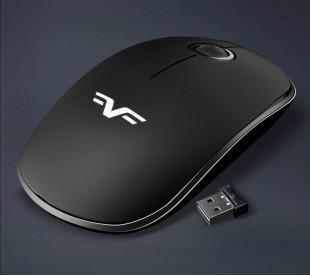 Мышь беспроводная Frime FWMO-240В Silent Черный