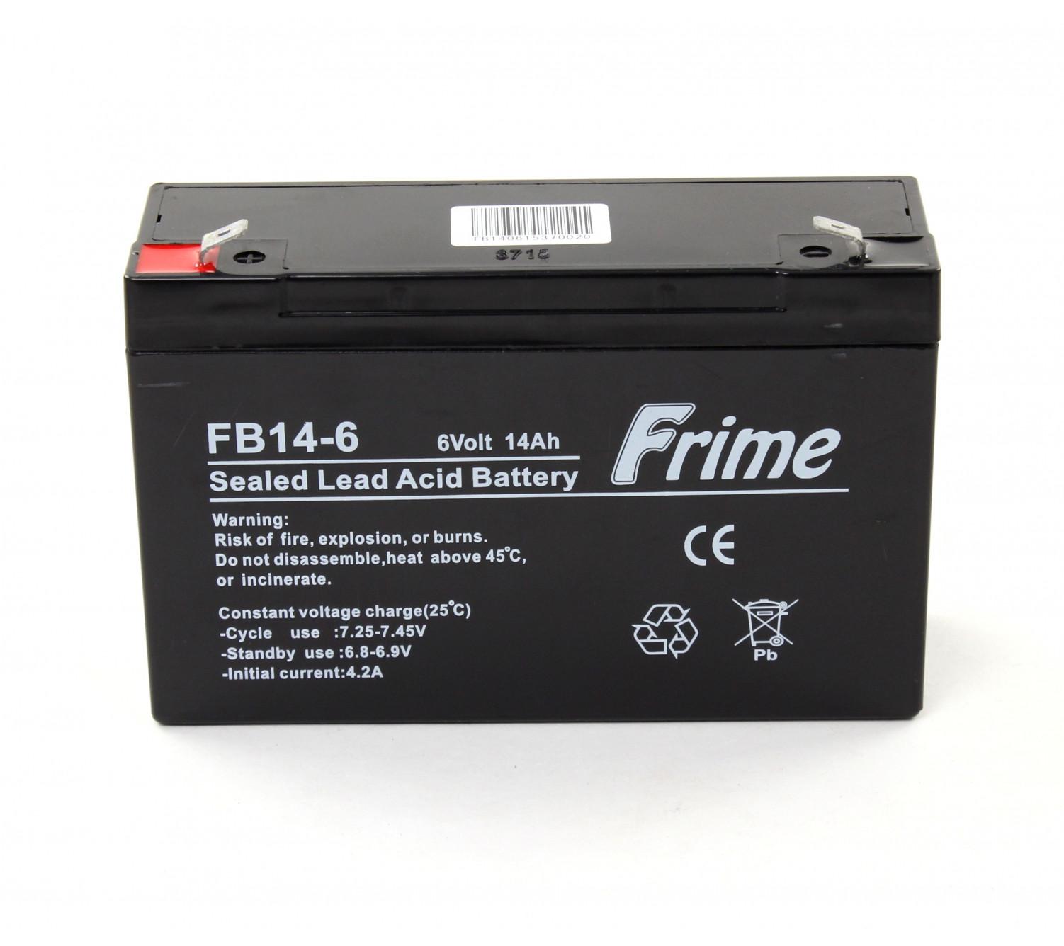 Аккумулятор Frime FB14-6 AGM VRLA