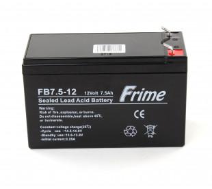 Аккумулятор Frime FB7.5-12 AGM VRLA