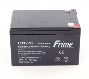 Акумулятор Frime FB12-12 AGM VRLA