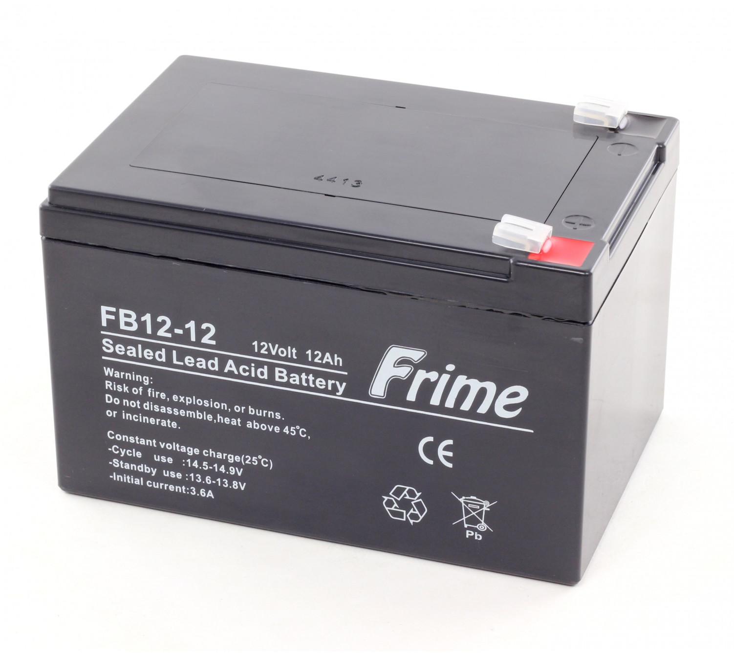 Аккумулятор Frime FB12-12 AGM VRLA