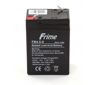 Аккумулятор Frime FB4.5-6 AGM VRLA