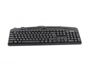 Клавиатура Frime FKBM-130 USB RUS/UKR, Black