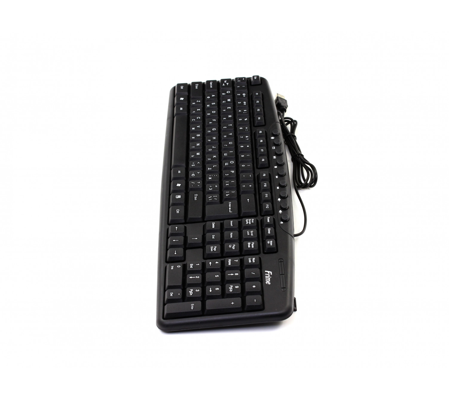 Клавиатура Frime FKBМ-004 черная