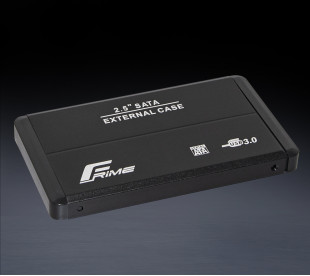 "Зовнішня кишеня Frime для 2.5"" SATA HDD/SSD Metal USB 3.0 Black (FHE20.25U30)"