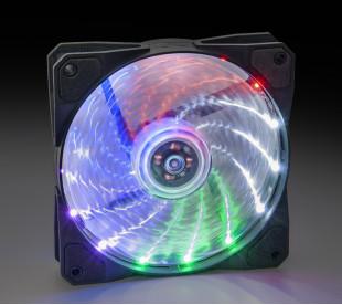 Вентилятор Frime Iris LED Fan 15LED Multicolor