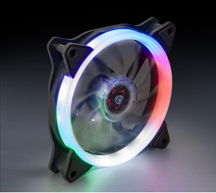 Вентилятор Frime Iris LED Fan Single Ring Multicolor