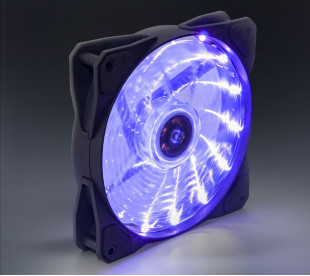 Вентилятор Frime Iris LED Fan 15LED Purple