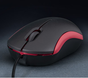 Мышь Frime FM-010 черно-красная USB