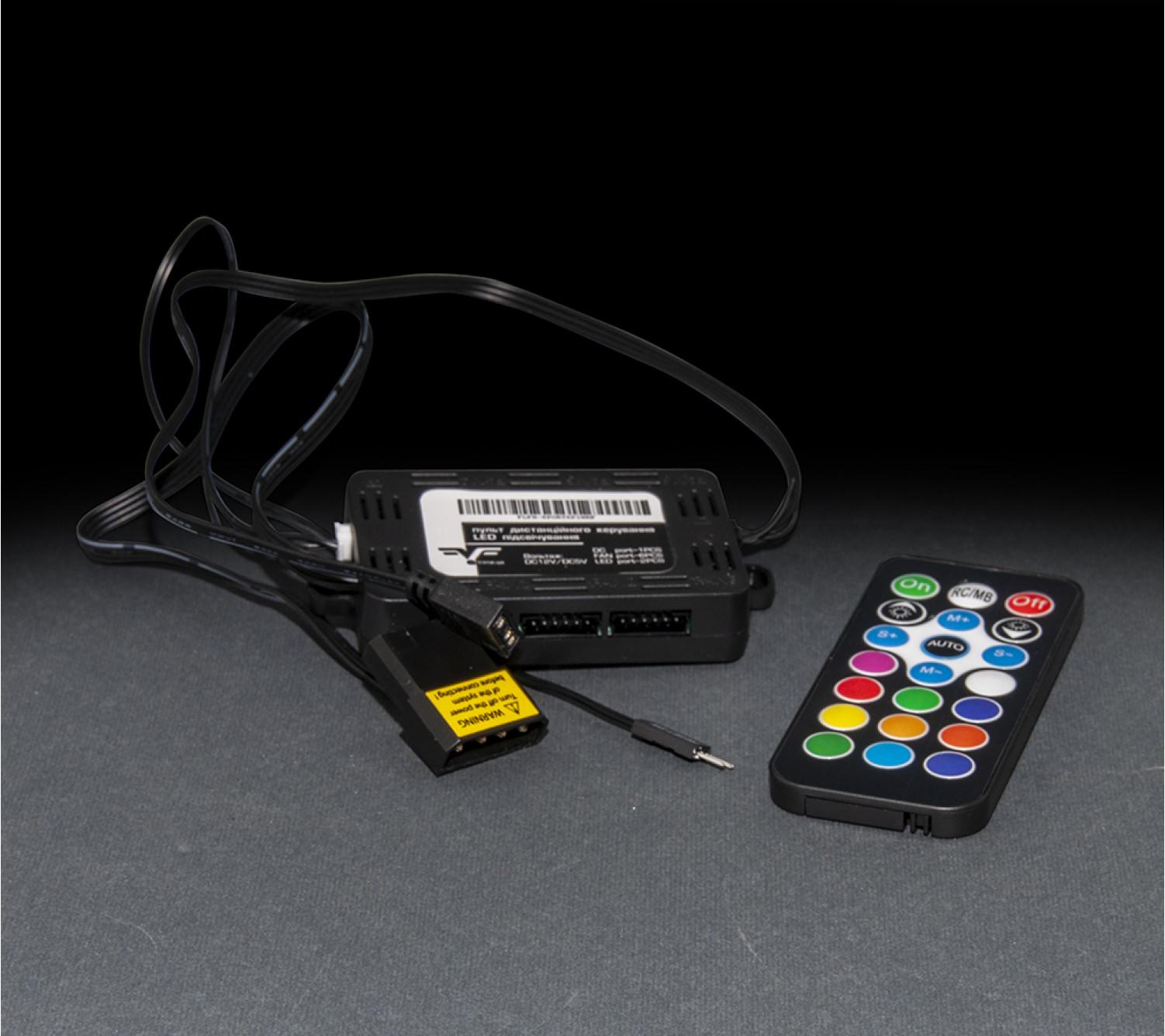 Хаб для управления RGB подсветкой Frime (FLFH-6port6pinRF)
