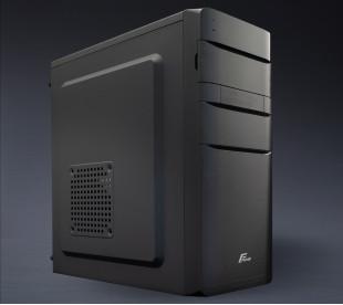 Корпус Frime FC-211B Black 2*USB ATX FPO-400-12C