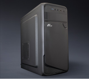 Корпус Frime FC-212B Black USB 1*3.0 2*USB ATX FPO-400-12C