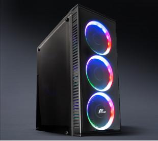Корпус Frime BASTION Rainbow LED