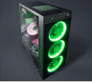 Корпус Frime SAKAAR Green LED