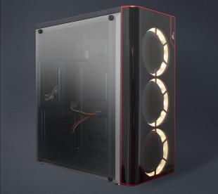 Корпус Frime VISION White LED