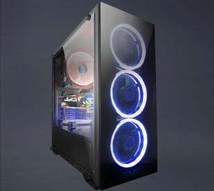 Корпус Frime WANDA Blue LED