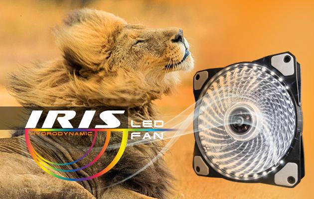 Вентиляторы Frime IRIS LED Fan