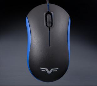 Мышь Frime FM-010 черно-синяя USB