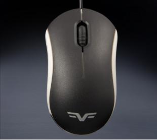 Мышь Frime FM-010 черно-белая USB